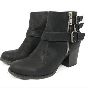 Madden Girl Wickker Ankle Boots Booties Side Zip